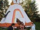 Tipi-Camp Wioska Indiańska