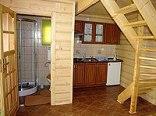 łazienka, kuchnia w domku