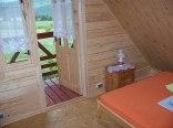 Sypialnia z balkonem