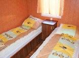 sypialnia w domkach parterowych