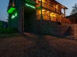"""Dom noclegowy """"Pod Mnichem"""" - widok nocą"""