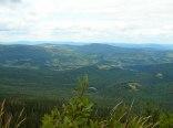 widok na doliny z Babiej Góry