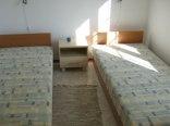 Sypialnia w apartamencie morskim