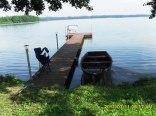 kładka dł. 16 m i łódka do dyspozycji turystów