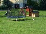 Plac zabaw dla dzieci z bocianami :-)