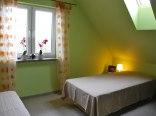 Domek - Wnętrze (sypialnia mała)