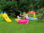 Plac zabaw dla maleńkich dzieci