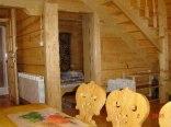 Drewniane domki góralskie