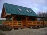 Domek drewniany,100m do brzegu,150zl/doba,6 osób.