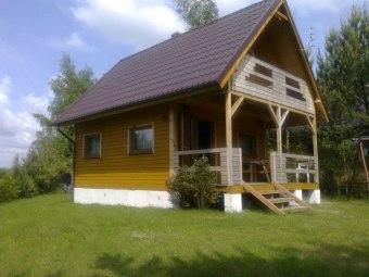 Domki przy jeziorze