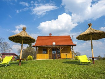 Agroturystyka nad jeziorem w Sumowie