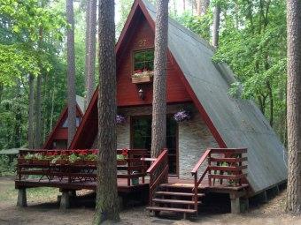 Domek Nad Zalewem Koronowskim, Bory Tucholskie