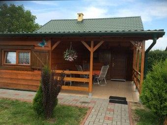 Domki drewniane - Motylek *Dźwirzyno*