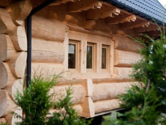 Domki drewniane OSADA CHWILÓWKA
