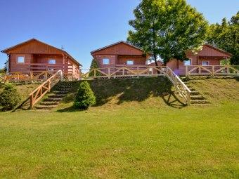 Dobra Miejscówka Domki i pokoje 80 m od jeziora