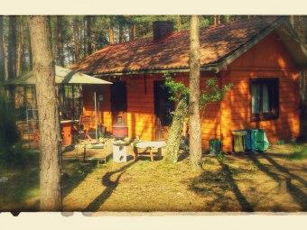 Komfortowy domek całoroczny las, jezioro