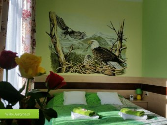 Willa Justyna - pokoje gościnne