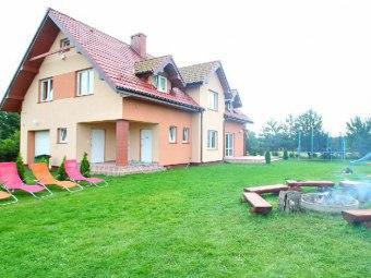 Willa Oleńka kwatery noclegi pokoje w Lubiatowie