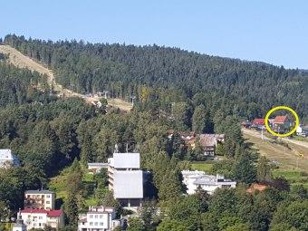 Willa Alpina przy stoku i wyciągu ,ekologiczny...