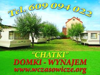 "Domki ""Chatki"" wolny domek 4 os od 21 sierpnia 21r"