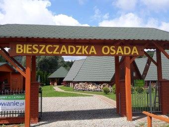 Domki Bieszczadzka Osada-całoroczne,nad Soliną