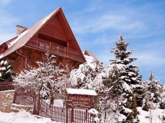 Chata u narciarza