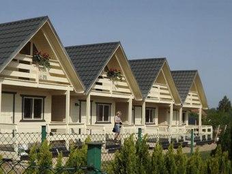 """Domki Drewniane """"Biały Żagiel"""""""