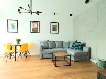 Apartament Azymut, Gdynia, nowoczesny, komfortowy