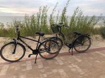 Apartament z rowerami