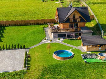 Domek w górach deluxe Nowy Targ sauna ,jacuzzi