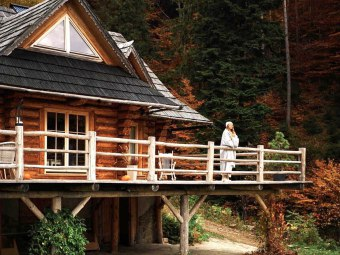 Poziomkowa Chata sauna balia basen ognisko
