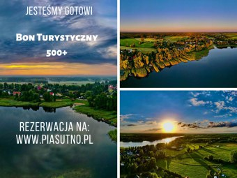 Terminy od 20.08- Piasutno-BON Turystyczny