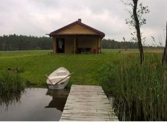 domek nad jeziorem- Wczasy u Kasi w Bógzaplać