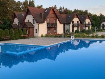 Apartament Szafirowy z basenem nad morzem Łeba