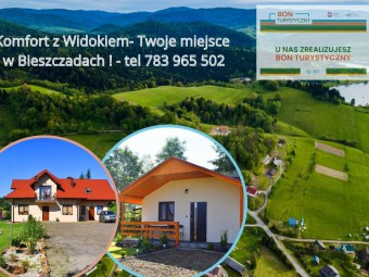 Komfort z widokiem-Domki i pokoje,Bieszczady,Zawoz
