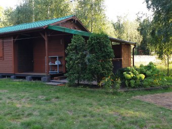 Domek nad jeziorem Wilczyn (Konin 30 km) do 6 osób