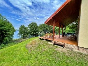 Domek z bezpośrednim dostępem do jeziora. Leleszki