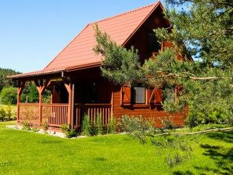 Horbaczówka - domki całoroczne na Mazurach