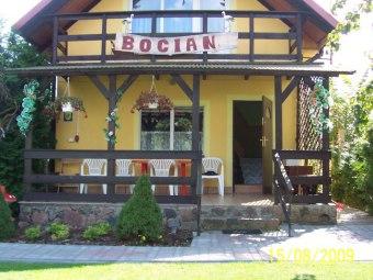 Dom Nad Jeziorem Bocian