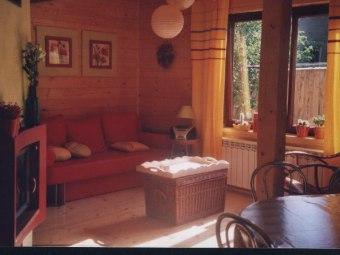 Wynajem domu z drewna w Pieninach