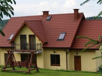 Atrakcyjne pokoje oraz domek nad Soliną
