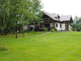 Modryna Modrzewiowy Dom w Bieszczadach