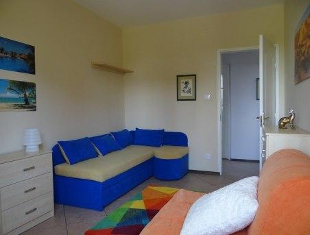 Willa Chabrowa- Apartament A dół- sypialnia