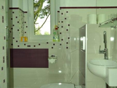 łazienka - pokój nr 2 wrzosowy