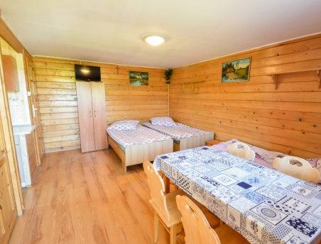 pokój w domku Bieszczadzka Miejscówka