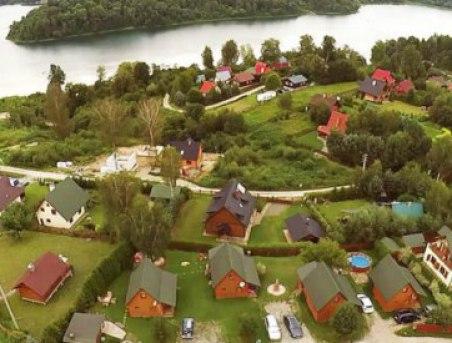Dom 12-osobowy nad jeziorem