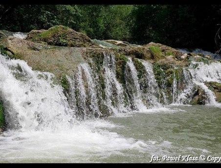 Najpiękniejszy wodospad w Biszczadach na naszej rzece-15min od domków
