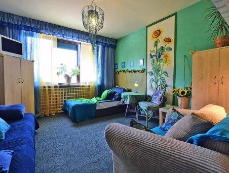 Sypialnia Zakochane Słoneczniki