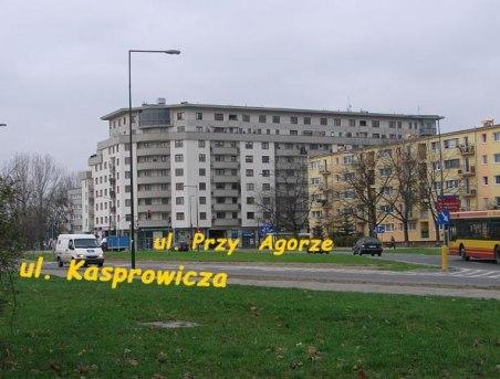 widok budynku Przy Agorze 28