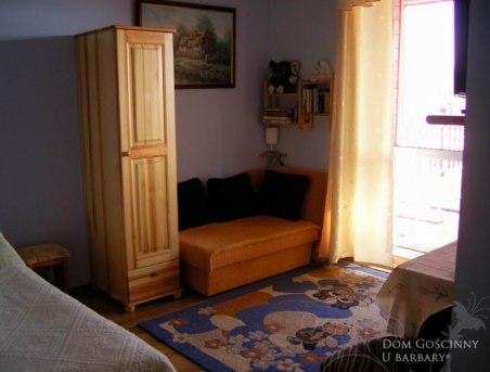pokój2-3 osobowy z tarasem